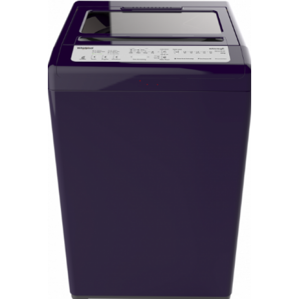 Whirlpool 6.5 Kg Fully Automatic Top Load Washing Machine WHITEMAGIC CLASSIC 601SD Velvet Purple,