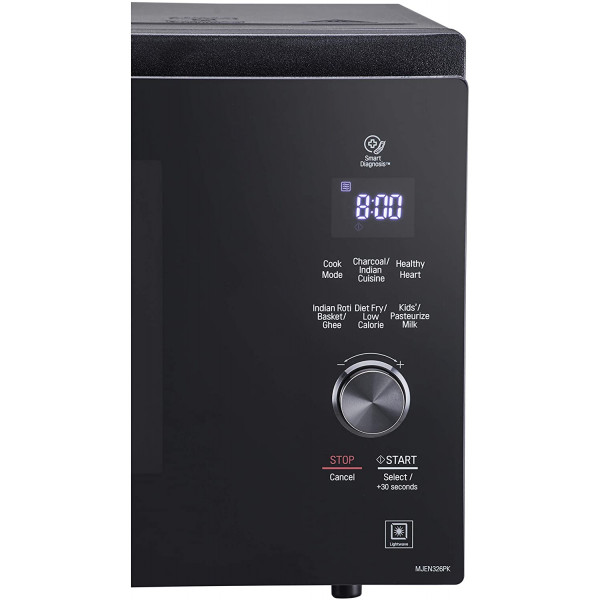 LG 32 L All in One Charcoal Convection Microwave Oven (MJEN326PK, Black, )
