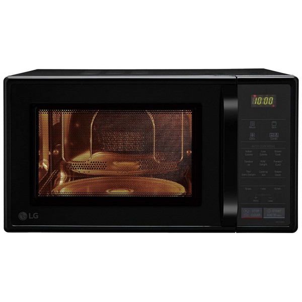 LG 21 L Convection Microwave Oven (MC2146BL)