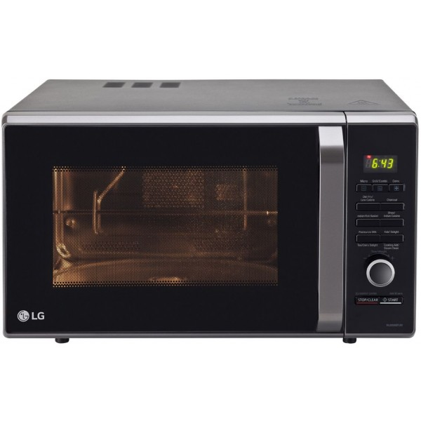 LG 28 L Convection Microwave Oven (MJ2886BFUM, Black)
