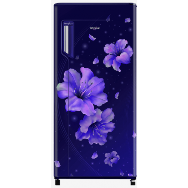 Whirlpool  215 L, 4 Star Direct Cool Refrigerator (230 IMFRESH PRM 4S INV SAPPHIRE HIBISCUS)