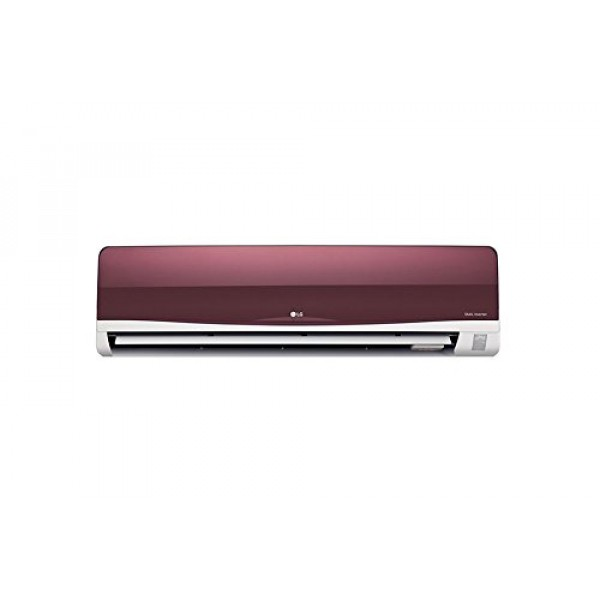 LG 1.5 Ton 3 Star Copper Dual Inverter Split AC (Wine Red)