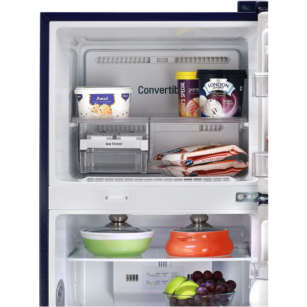 LG 260 L 2 Star Smart Inverter Frost-Free Double Door Refrigerator (GL-T292RBCY, Blue Charm, Convertible)