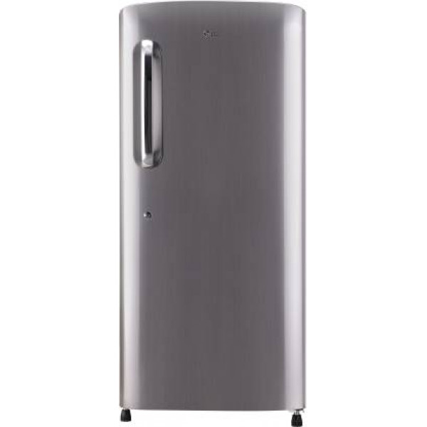 LG 215 L Direct Cool Single Door 5 Star Refrigerator  (Shiny Steel, GL-B221APZY)