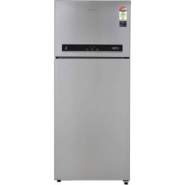 Whirlpool 440 L Frost Free Double Door 4 Star  Convertible Refrigerator  (Steel, IF INV CNV 455 ALPHA STEEL (3S)