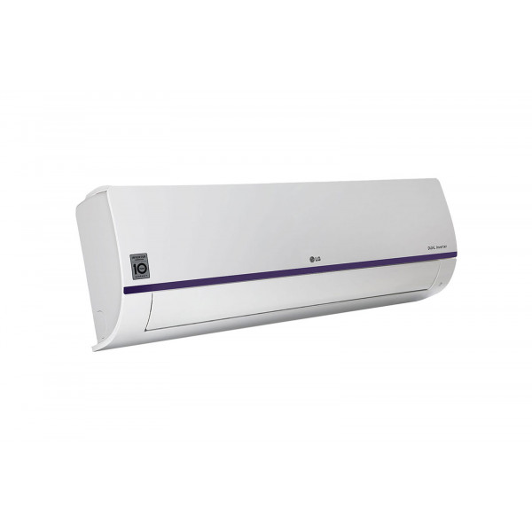 LG 1 Ton 3 Star Inverter Split AC White and Blue (KS-Q12BNXD)