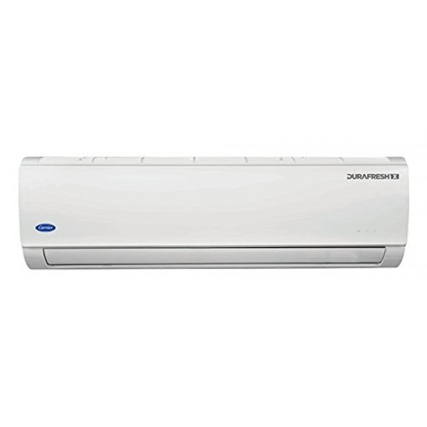 Carrier Copper 1.5 Ton 3 Star 18K Durafresh X Air Conditioner (White)