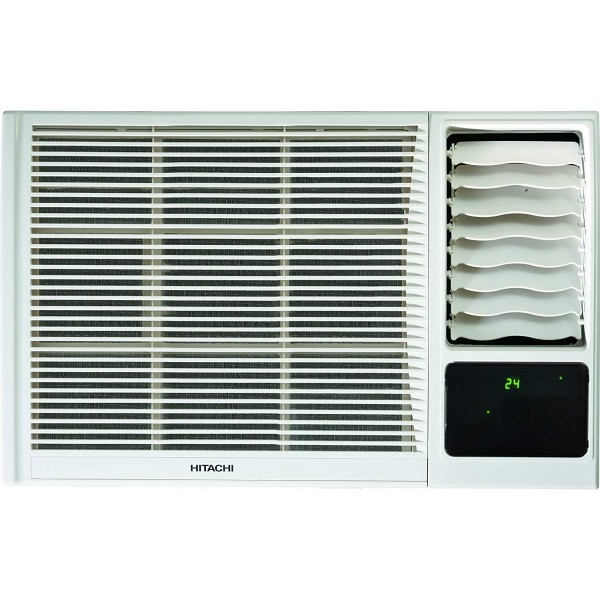 Hitachi 1 Ton 3 Star Window AC (RAW312KXDAI, White)
