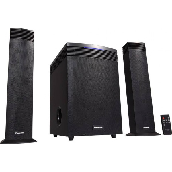 Panasonic SC-HT20GW-K 60 W Home Audio Speaker  (Black, 2.1 Channel)