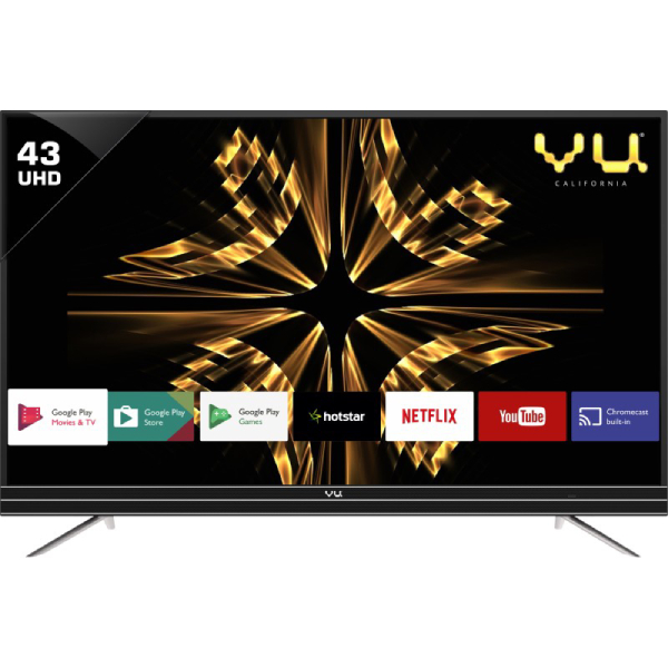 VU 80 cm (32 Inches) HD Ready LED TV LED 32K160 (Black) (2017 model)