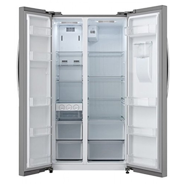 Panasonic 584 L Frost Free Side-by-Side Refrigerator(NR-BS60MSX1, Stainless Steel, Inverter Compressor)