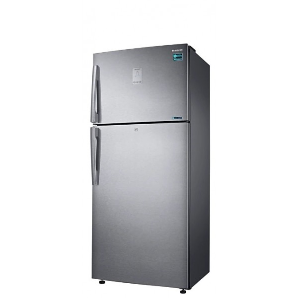 Samsung 551 L Frost Free Double Door 3 Star Refrigerator  (Easy Clean Steel, RT56K6378SL)