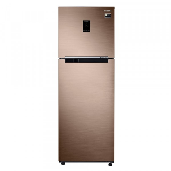 Samsung 345 L Frost Free Double Door 3 Star Convertible Refrigerator  (Refined Bronze, RT37M5538DP/HL)