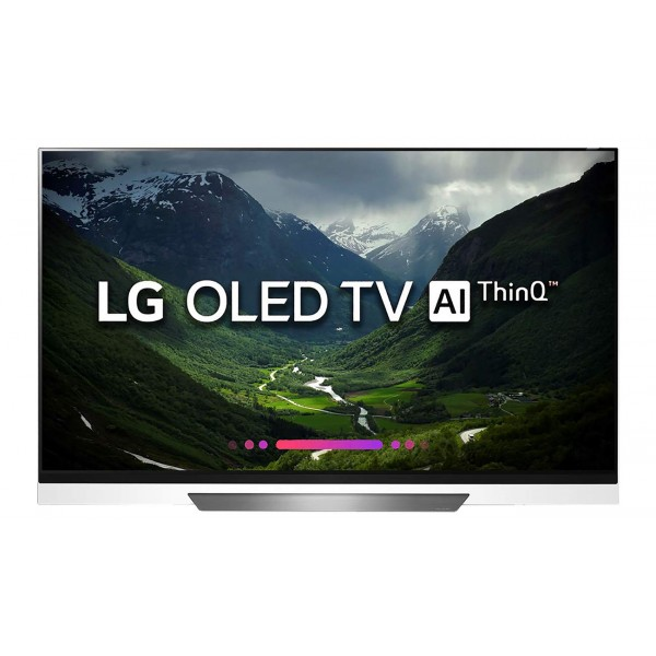 LG 165.1 cm (65 inches) OLED65E8PTA 4K OLED Smart TV (Black)