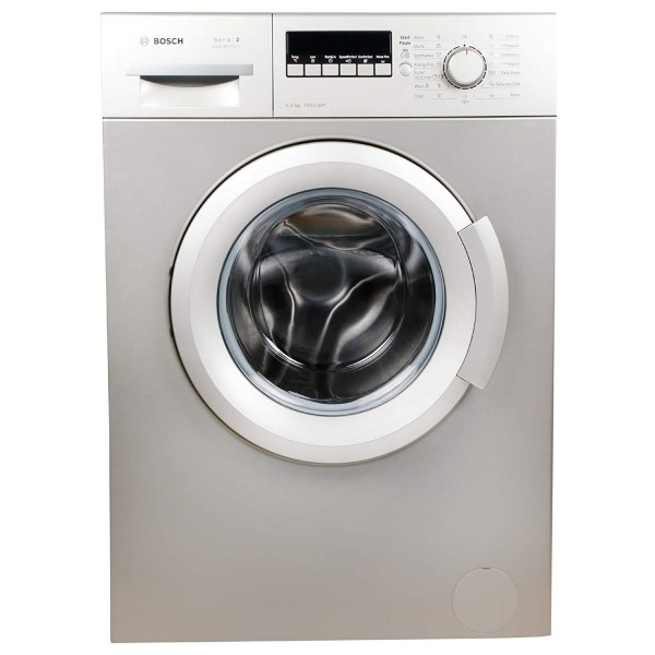 Bosch 6 kg Fully-Automatic Front Loading Washing Machine (WAB20267IN, Silver Inox)
