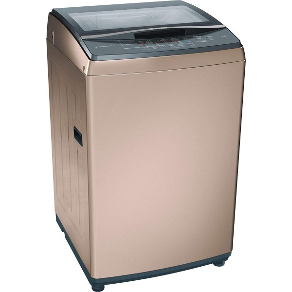 Bosch 7.5kg Fully Automatic Top Loading Washing Machine(WOA752R0IN, Champagne)