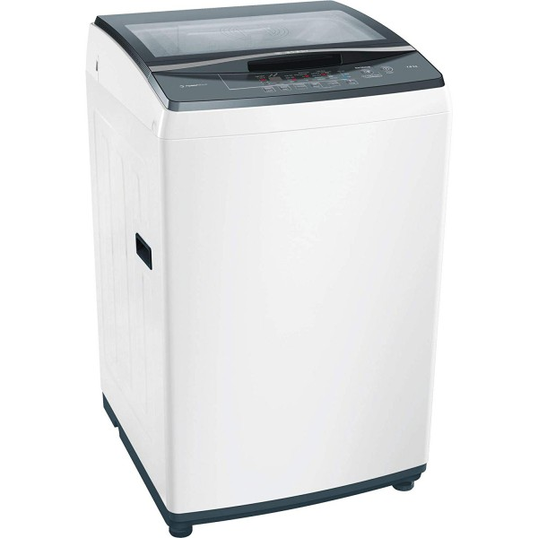 Bosch 7kg Fully Automatic Top Loading Washing Machine(WOE702W0IN, White)