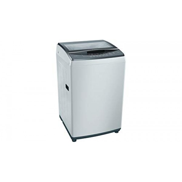 Bosch 7.5 Kg Fully-Automatic Top Load Washing Machine (WOE754Y0IN, White)