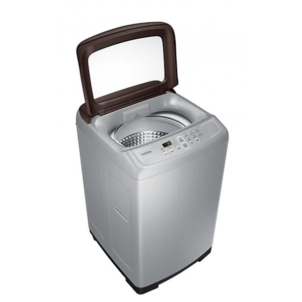 Samsung  6 Kg Fully Automatic Top Load Washing Machine Silver Brown (WA60M4300HD/TL)