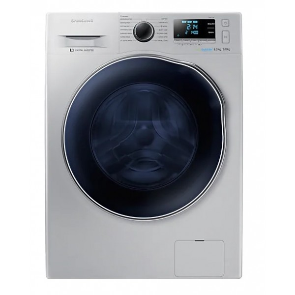 Samsung WD80J6410AS Front Loading with Eco-Bubble 8.0Kg, grey