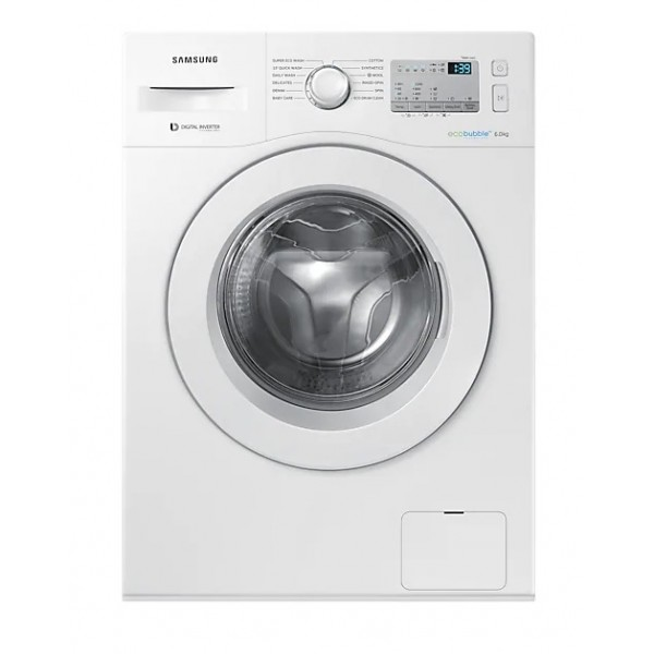 Samsung WW60M204KMA Front Loading with Smart Check & Touch LED Panel 6.0Kg