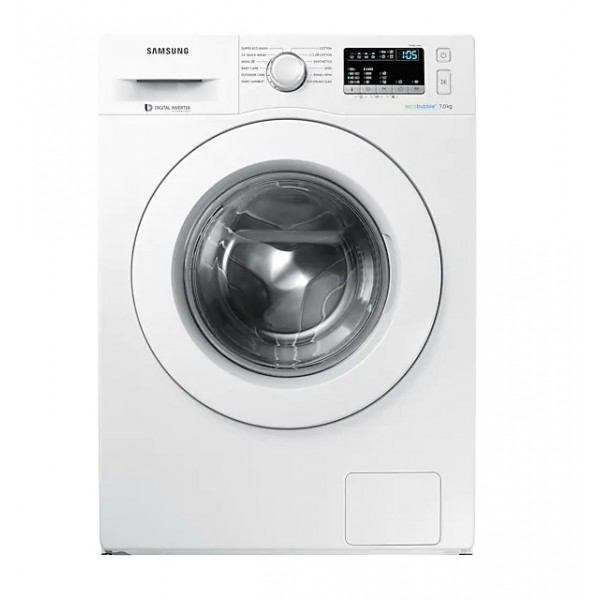 Samsung WW70J4243MW Front Loading with EcoBubble 7.0Kg