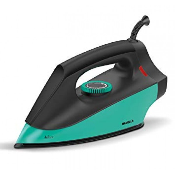 Havells Adore 1100-Watt Dry Iron (Sea Green)