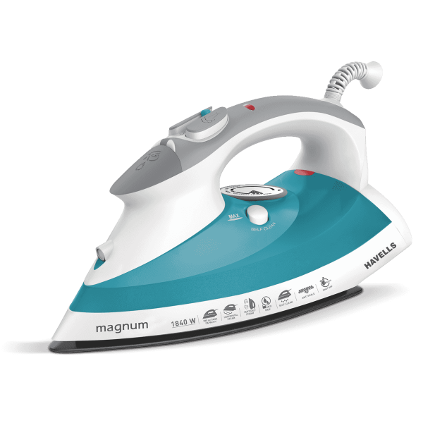 Havells 1840 W Magnum Auto Shut-Off Steam Iron, Standard, Blue