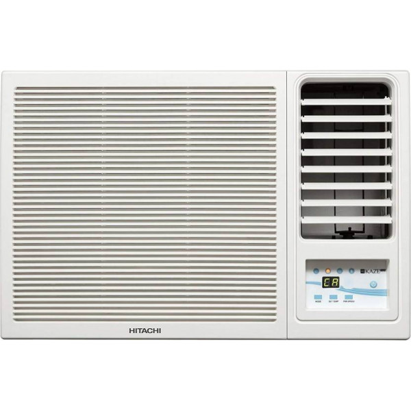 Hitachi 1 Ton 3 Star Window AC (RAW312KWD Kaze Plus, White)