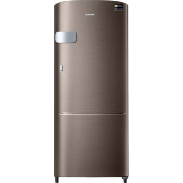 Samsung 192 L Direct Cool Single Door 4 Star Refrigerator  (Luxe Brown, RR20R1Y2YDX/HL)