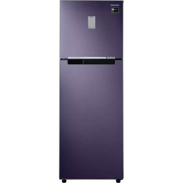 Samsung 275 L 2 Star Frost-Free Double Door Refrigerator (RT30T3422UT/HL, Pebble Blue)
