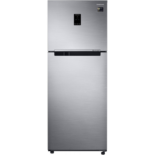 Samsung 394 L 3 Star Frost Free Double Door Refrigerator(RT39M5538S9/TL, Refined Inox, Convertible)
